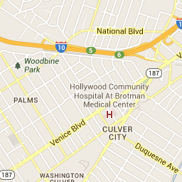 Hollywood Ca Zip Code Map.View Park Windsor Hills California Zip Code Boundary Map Ca All