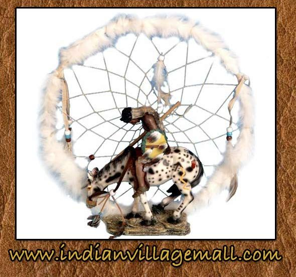 End Of The Trial Dream Catcher Sculpture From Tribal Tribal Impressions- www.indianvillagemall.com