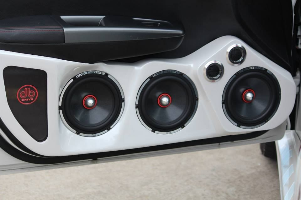 DB Drive Car Audio Speaker  Tweeter Installation  db  Pinterest