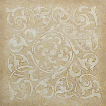 Medium Verona Tile Stencil Royal Design Studio Correct Size For Chapel Ceiling Tiles