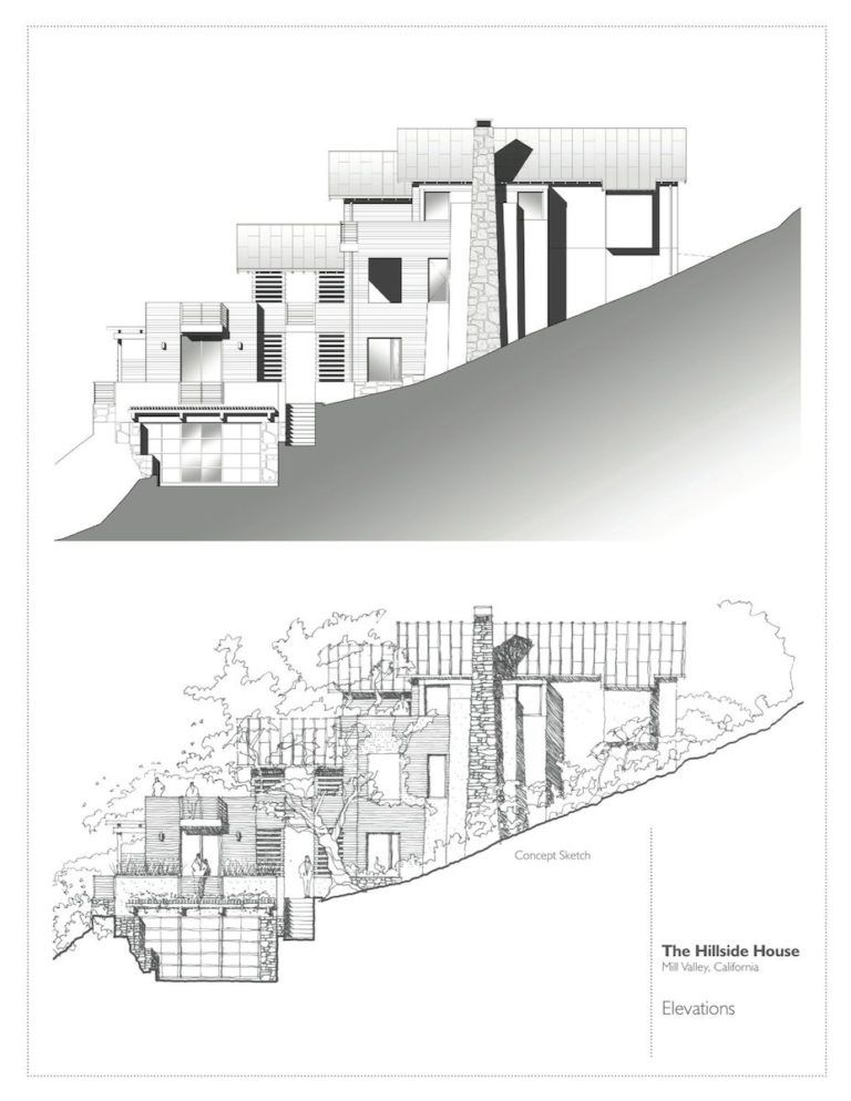Hillside House Sb Architects Arch2o Com Hillside House Sloping Lot House Plan House Design