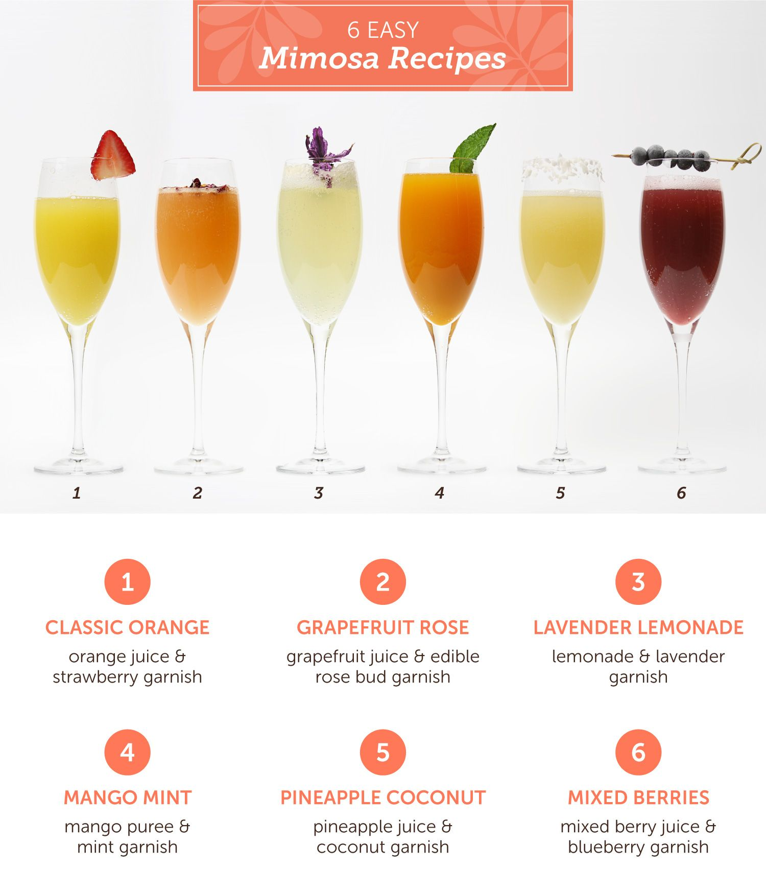 DIY: Mimosa Bar Styling Ideas and Recipes | Beverages and