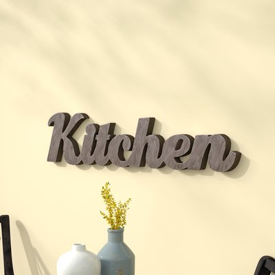 Gracie Oaks Metal Kitchen Wall Decor Products In 2019 Wall