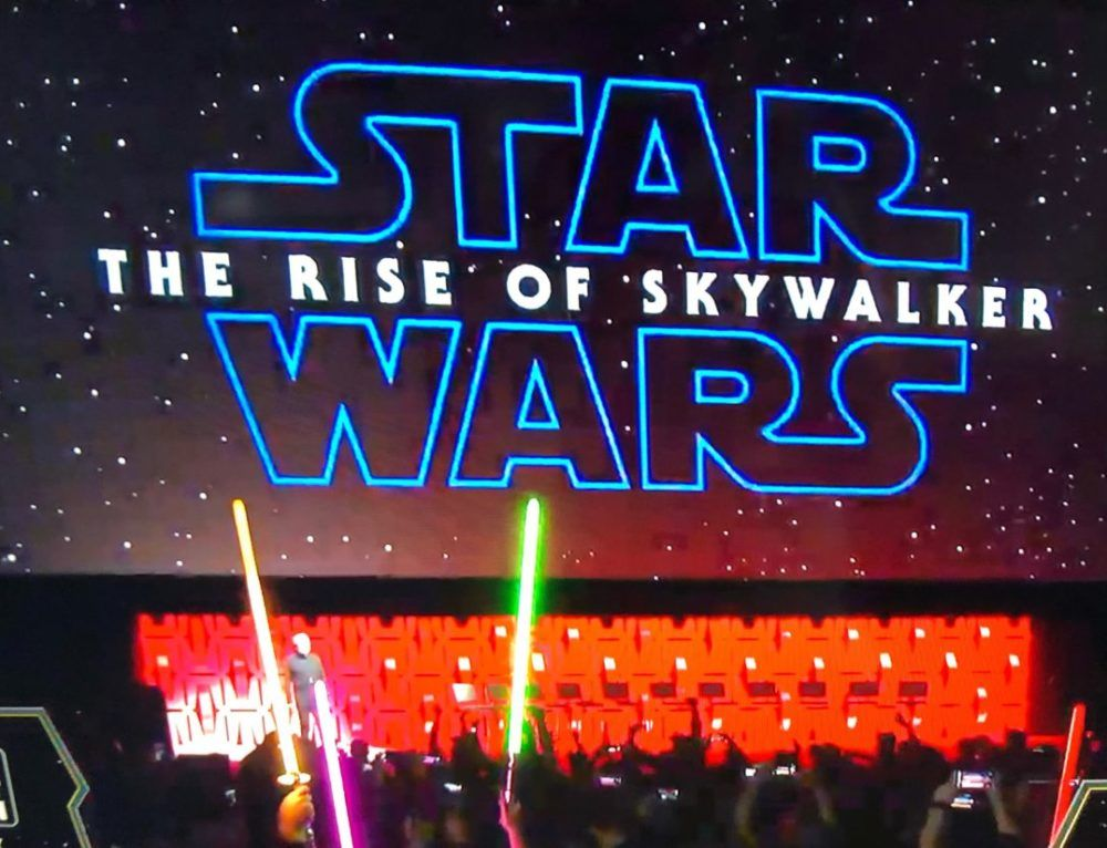 Title And First Trailer Released For Star Wars Episode Ix Star Wars Celebration For Stars Star Wars
