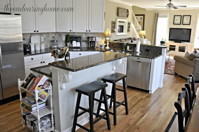Superior A Recipe For Adding Extra Storage To Your Kitchen Island
