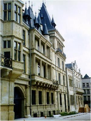 Grand Ducal Palace Located in the old quarter of Luxembourg City, the Grand Ducal Palace has been the official residence of the Grand Duke since the 1890s and is one of the territory's most important buildings.
