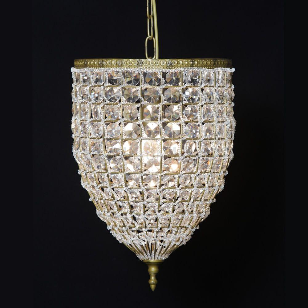Florentine Dining Room: Gold Florentine Basket Chandelier