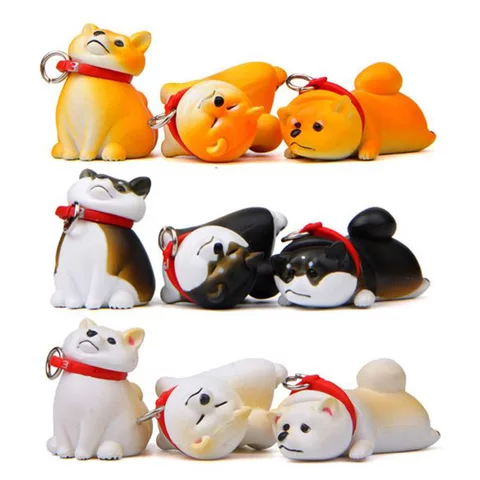 6 Styles Kids Cheese Cat Action Figures Cute Mini Cat Pvc Toys Figures Model Toy Best Decoration For Children In Action Toy Fi Corgi Doll Cute Corgi Pet Toys