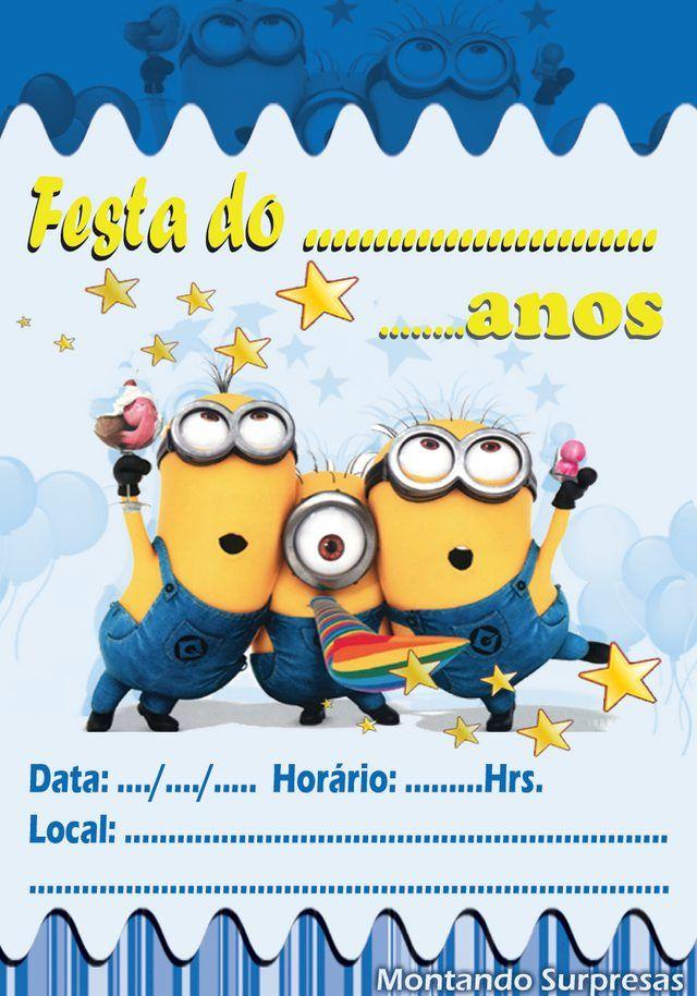 Imgur Post Imgur Cumpleaños De Los Minions Invitacion