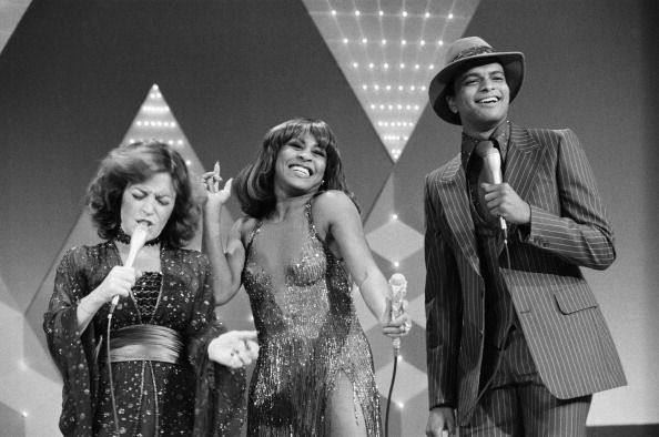 IN Episode 5 Aired Pictured June Gable Tina Turner Ben Powers Photo by NBCU Photo Bank