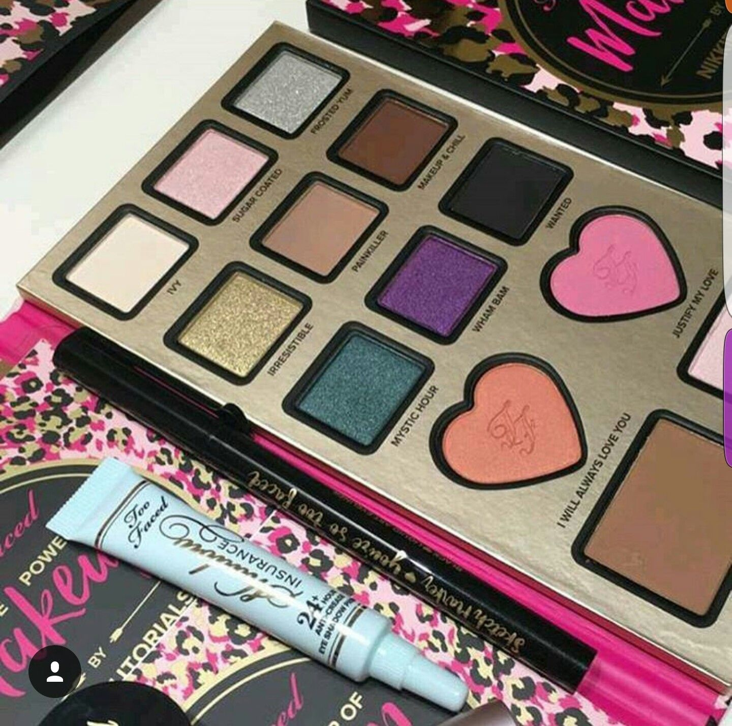 "Too Faced Cosmetics on Instagram ""Add a little SPARKLE to"
