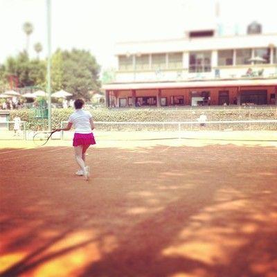 @sandysokete #tennis #fit #sports #fitness la hermana jugando