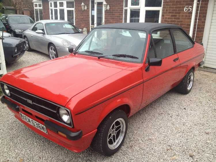 Epingle Sur Ford Escort