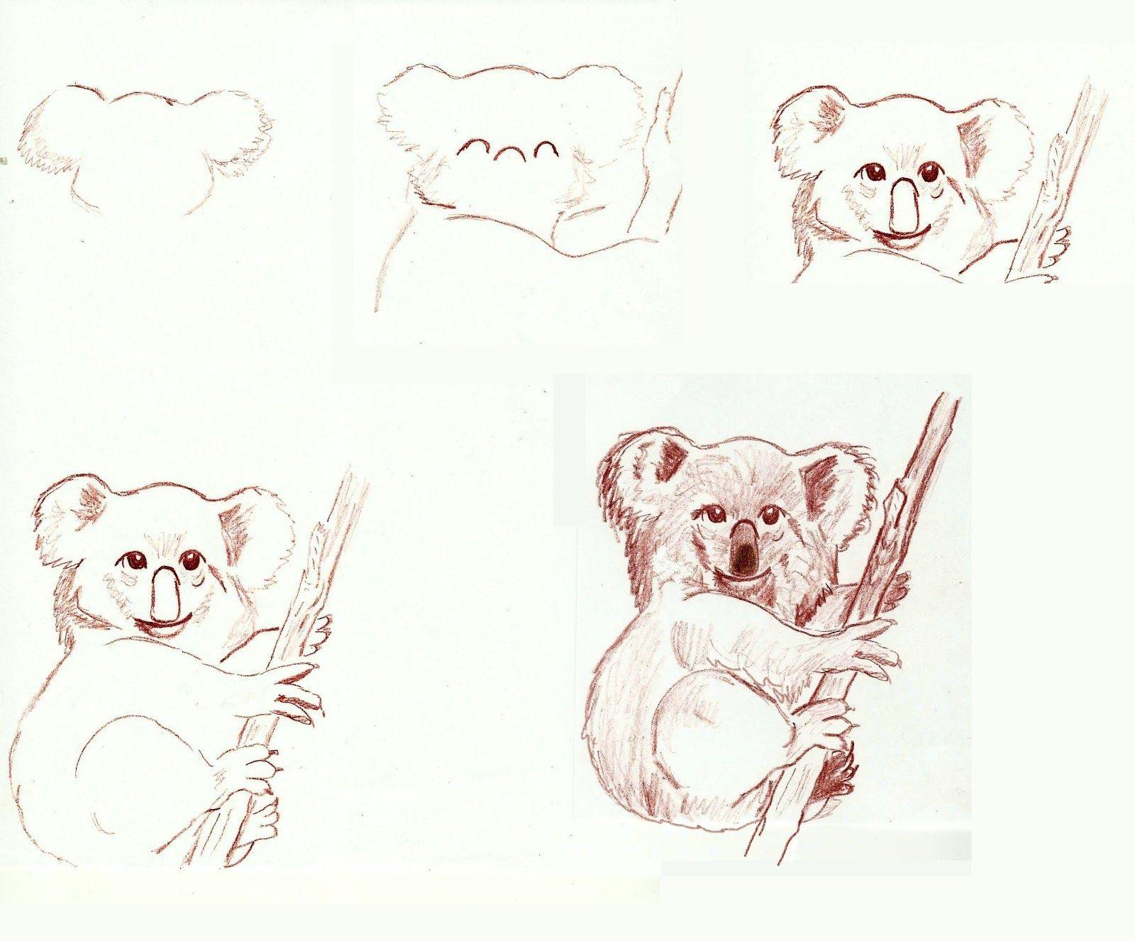 Koalas | Art class ideas