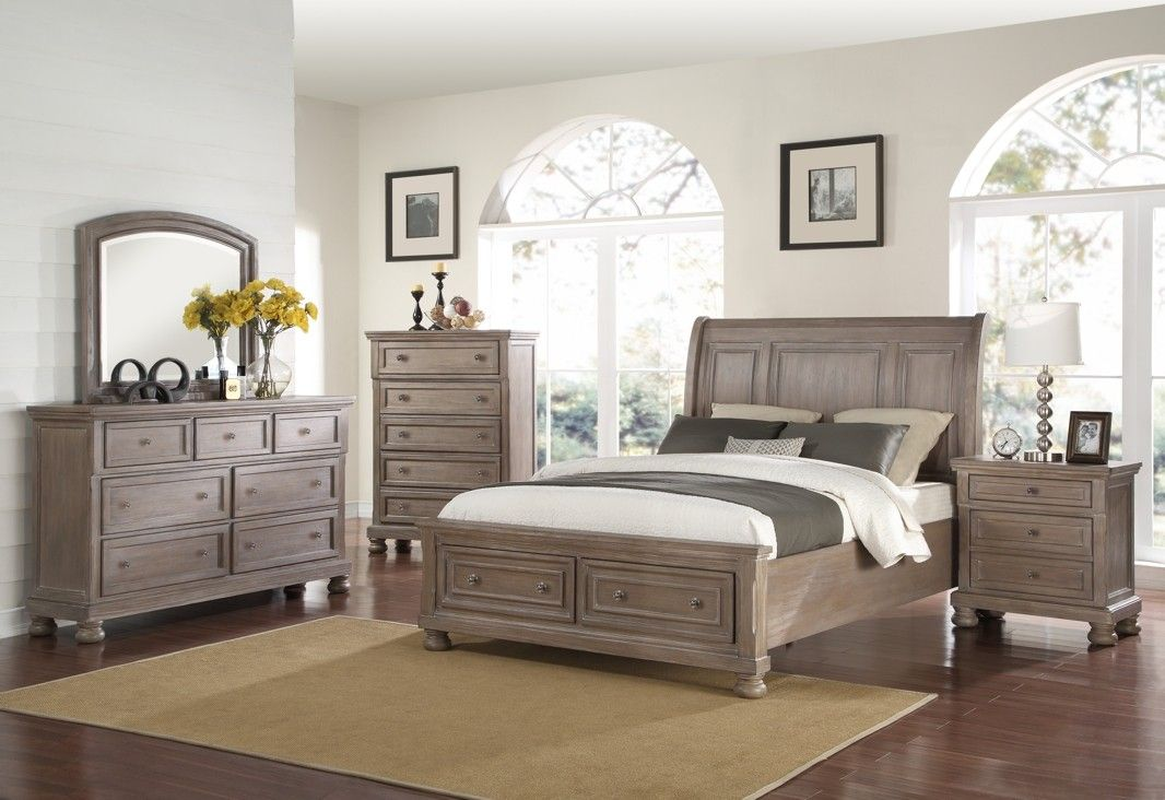 Traditional Styling Raised Panels Finished In A Silky Pewter