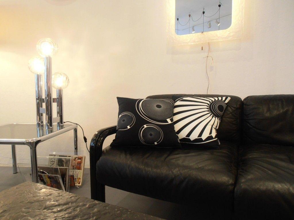 Velodrom Cushion in seventies Interior http://www.s-wert-design.de