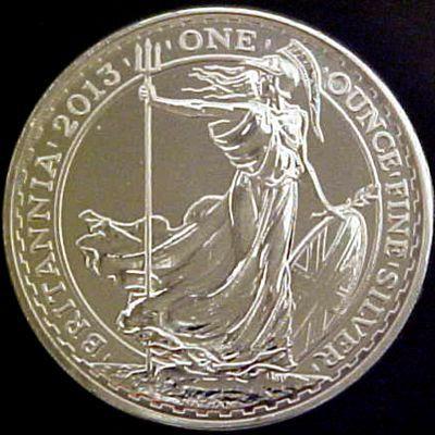 1oz Uk Britannia Silver Bullion Coin Bullion Coins Silver Bullion Silver Bullion Coins
