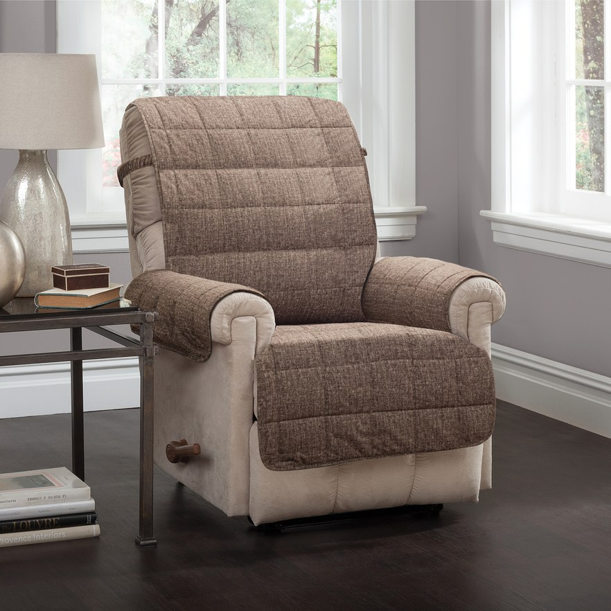 Jeffrey Home Tyler Solid Recliner Furniture Cover