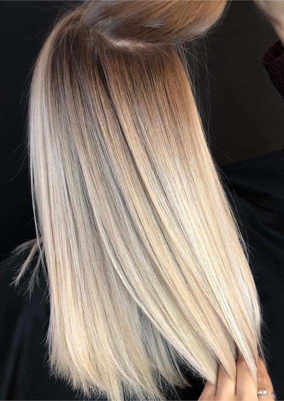 Amazing blended balayage shadowroot hairstyles for 2019 – #balayage #blended #Amazing …