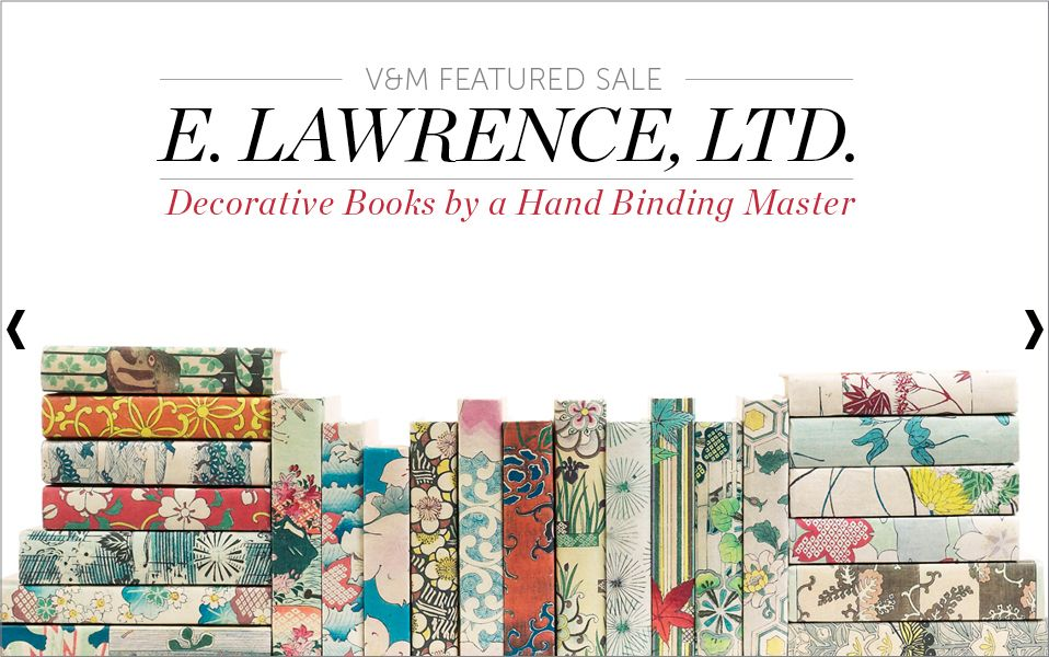 E. Lawrence, collectible books, handcrafted books,book