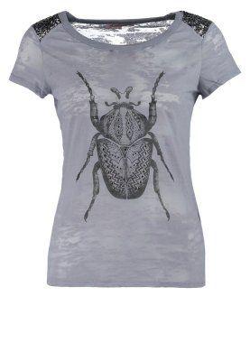 T-shirts med print - grå