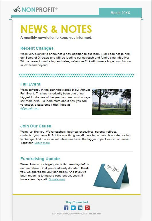 Need to send an update the members of your organization? Our NEW - press release template