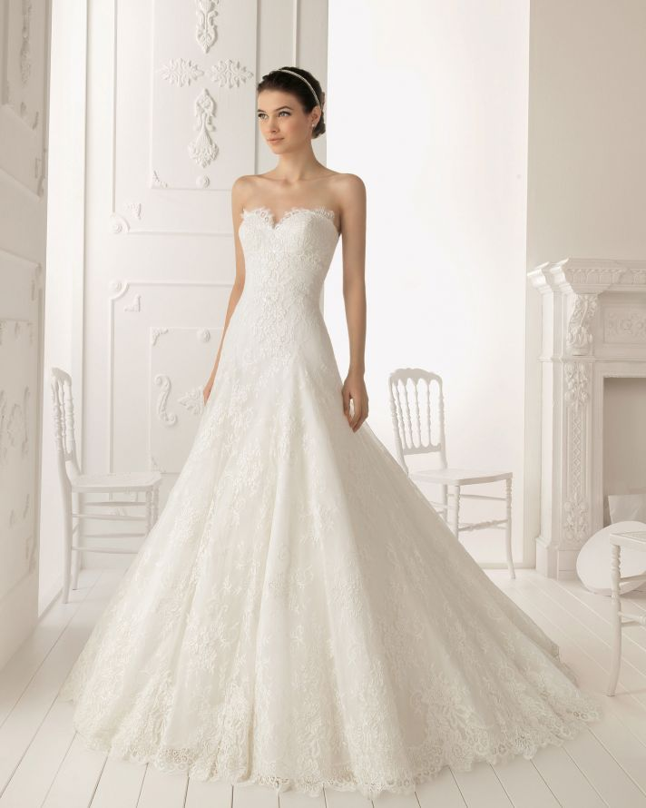 25 new wedding gowns from aire barcelona | wedding | vestidos de