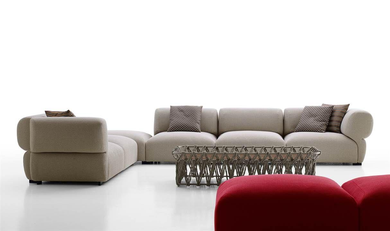 Sofa: RAVEL U2013 Collection: Bu0026B Italia Outdoor U2013 Design: Patricia Urquiola |  Furnishings | Pinterest