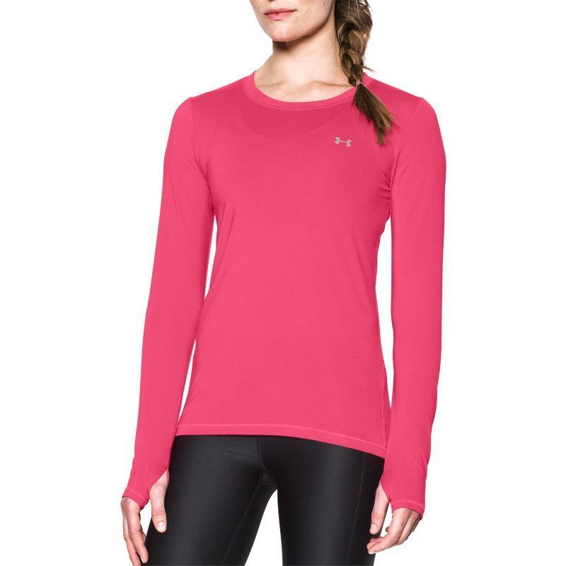 Under Armour Heat Gear Long Sleeve Frequency Tee Womens