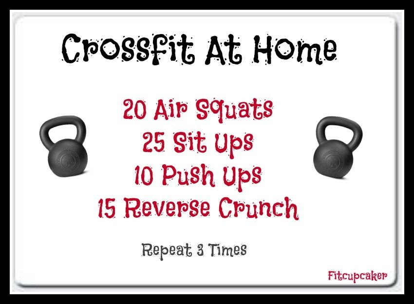 crossfit at home | fitness freak | Crossfit workouts at home