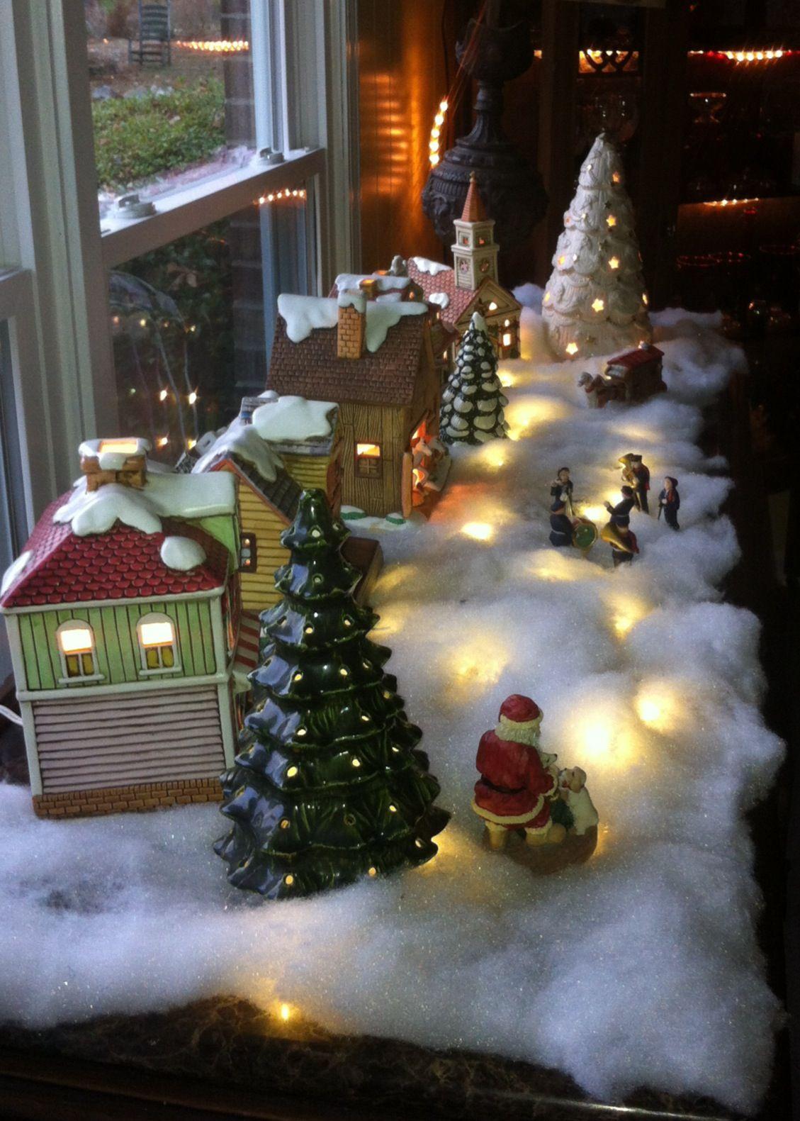 Lefton Colonial Village Christmas Villages