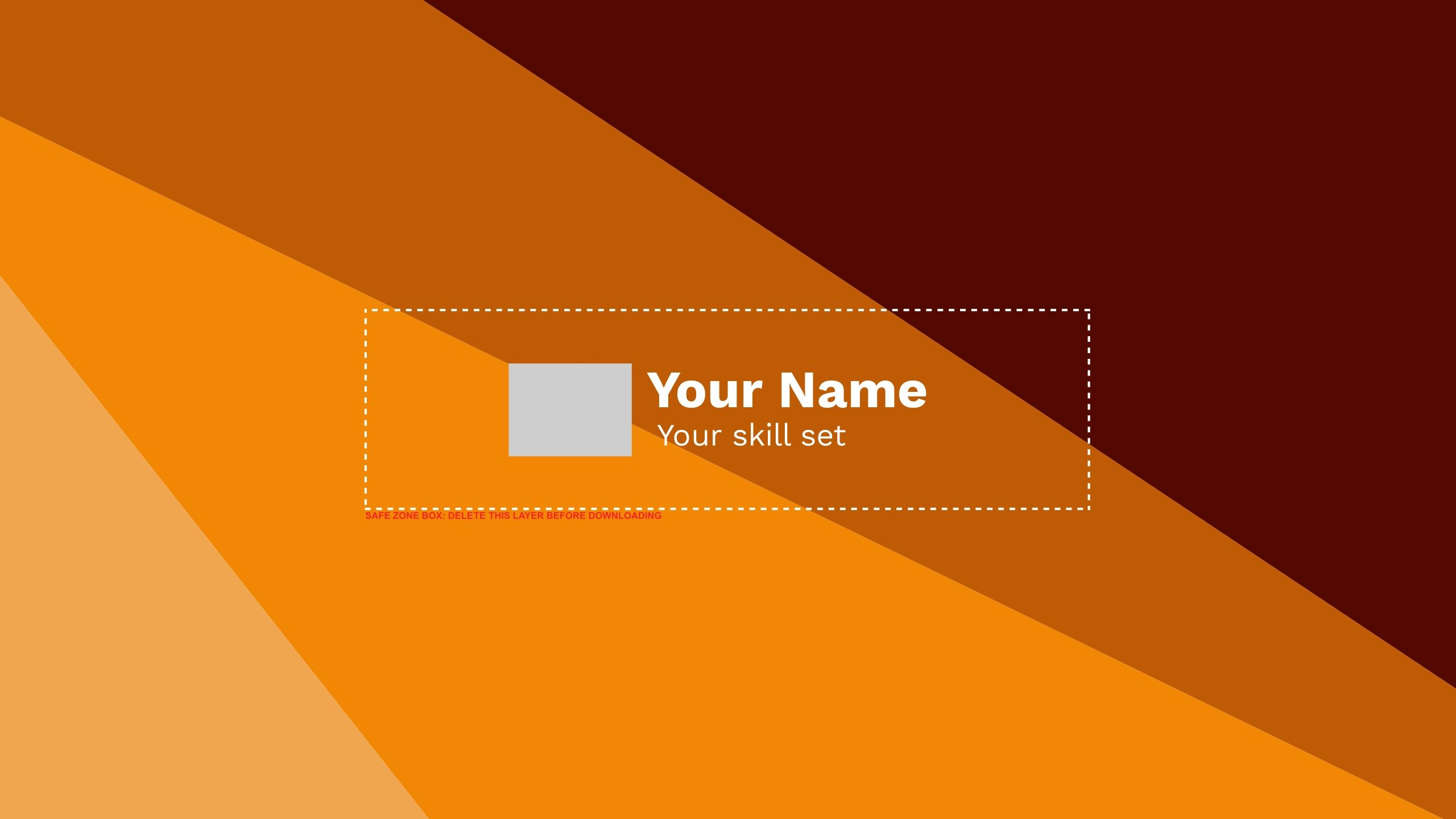 Customize This Youtube Cover Template Using Designwizard By Clicking