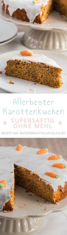 Low Carb Rüblikuchen | Rezept | Rüblikuchen, Low carb backen und ...