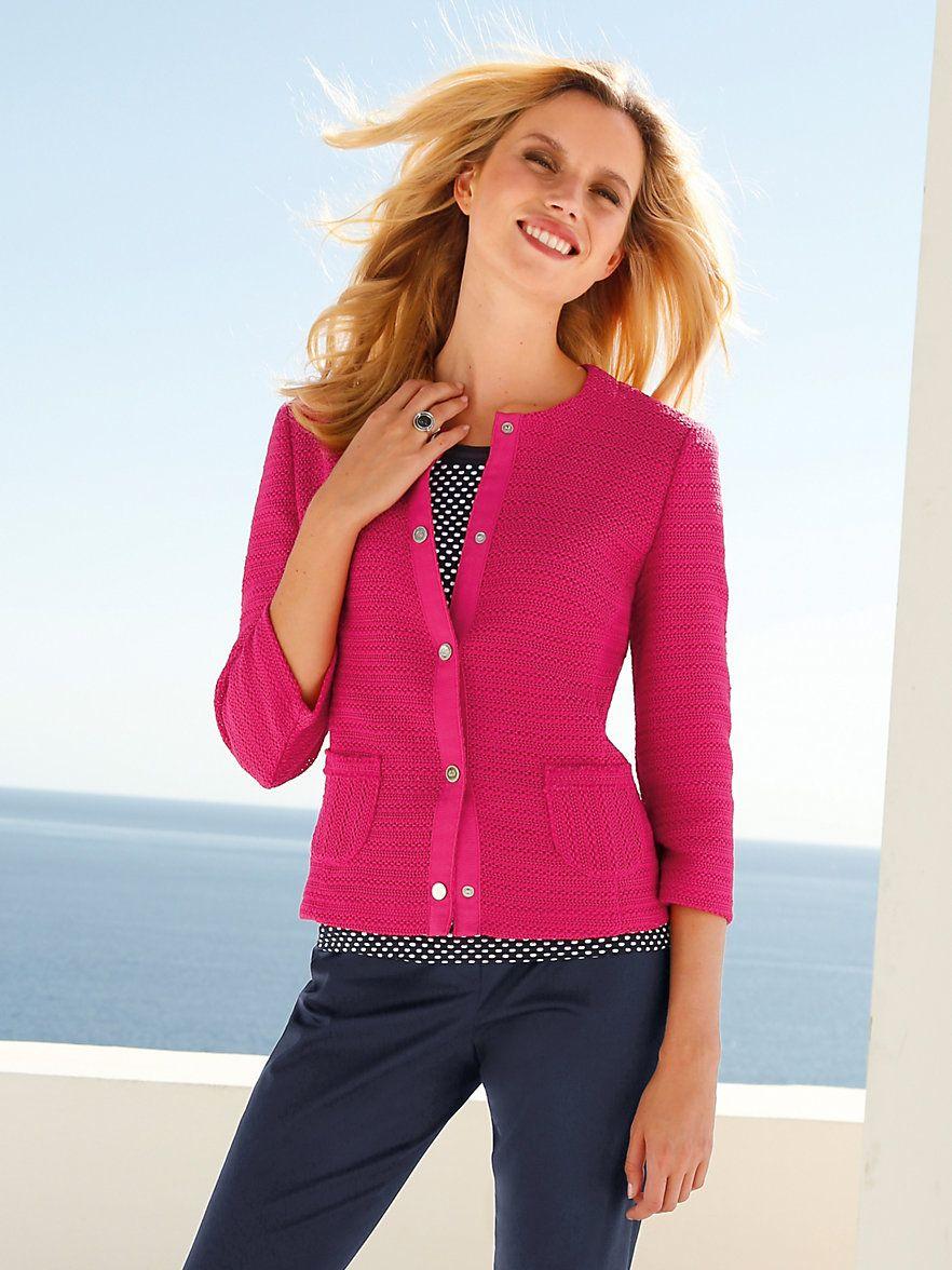 Gerry Weber Jacket cyclamen | Clothes, Jackets, Fashion