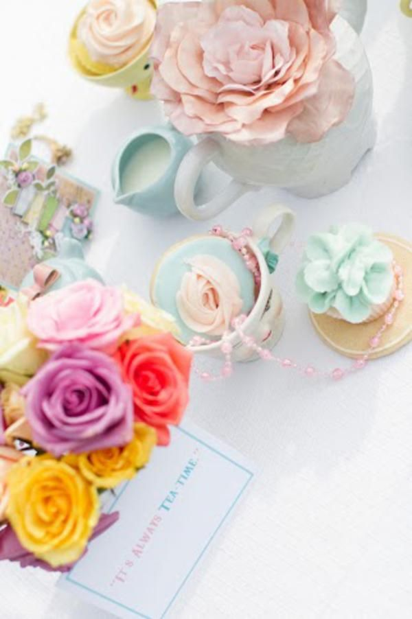 Vintage Alice in Wonderland Tea Party - Kara's Party Ideas - The Place for All Things Party