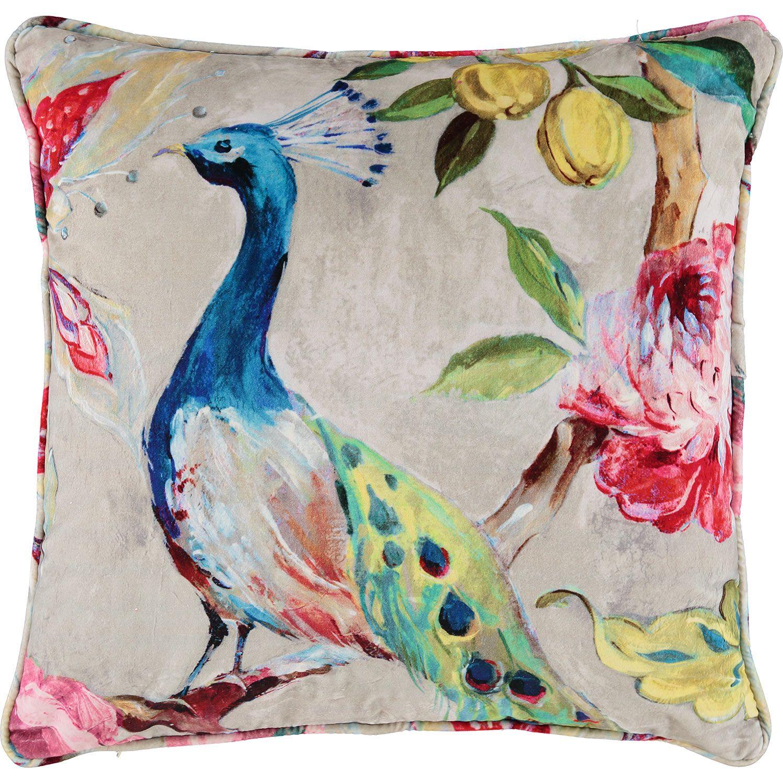 Style furnishings multicoloured peacock cushion 55x55cm tk maxx style furnishings multicoloured peacock cushion 55x55cm tk maxx reviewsmspy