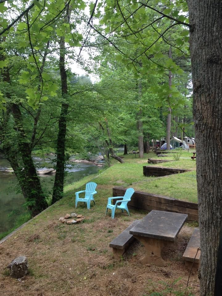 Rv Park And Campground On Tallulah River Near Tallulah
