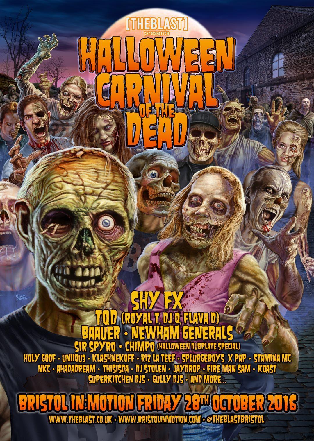 Ed repka x the blast halloween 2016 horror movie posters