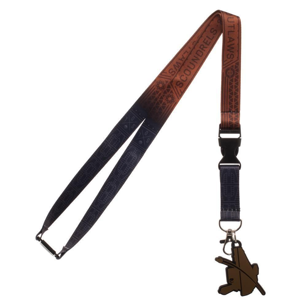 BRAND NEW OFFICIAL STAR WARS HAN SOLO COSTUME STYLED LANYARD