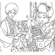 明治大正昭和のロマン大人の塗り絵教室 高齢者の方向け My