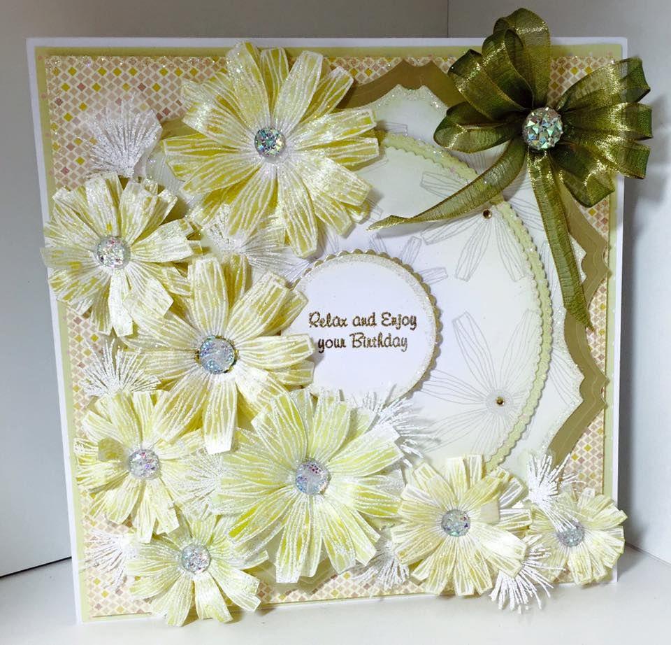 Papercraft Card Making Ideas Part - 19: Chloeu0027s Creative Cards On Hochanda #ChloeEndean #Papercraft #Cardmaking  #Craftsu2026