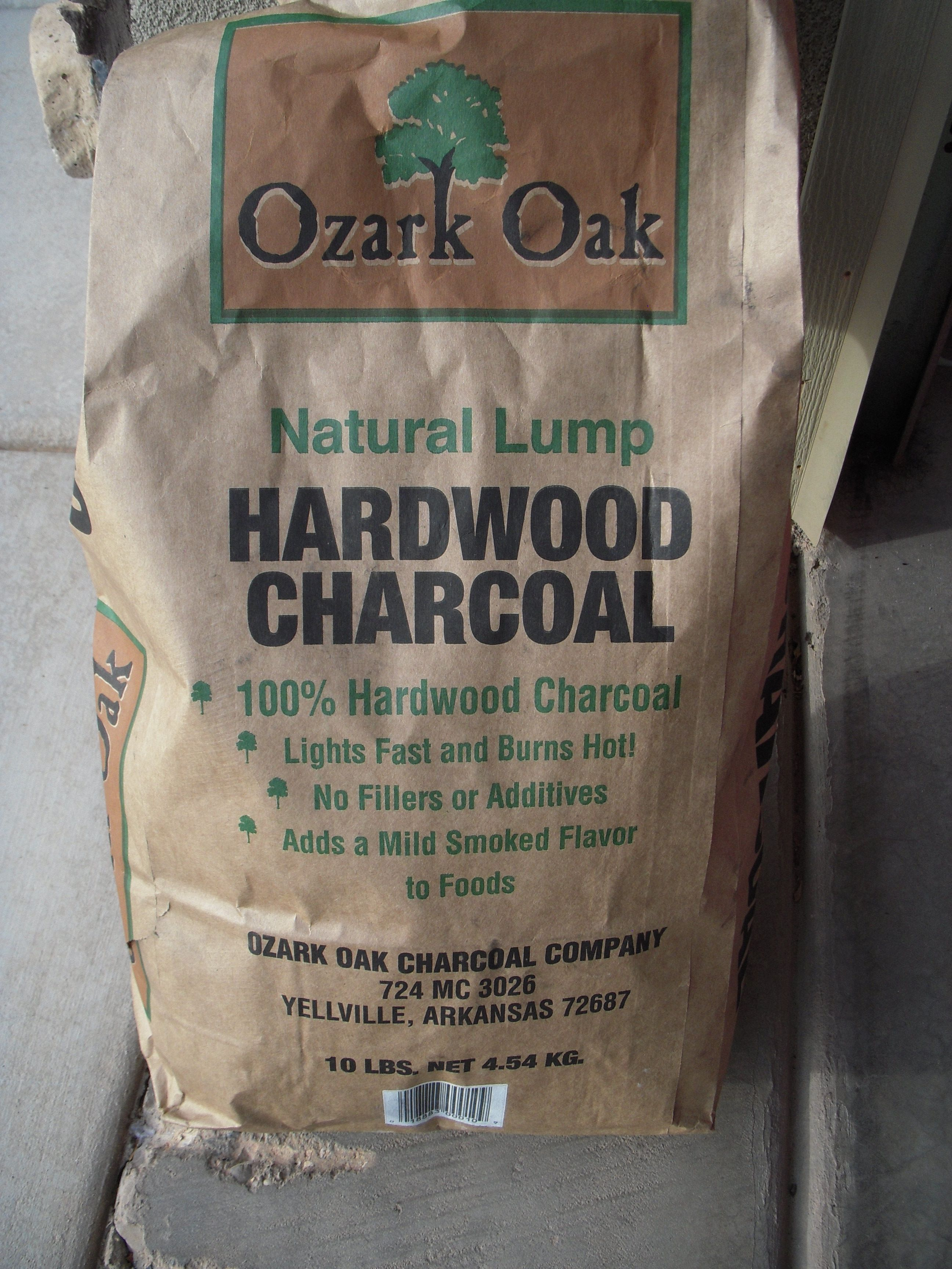 Ozark Oak Lump Charcoal and Volocano II Stoves