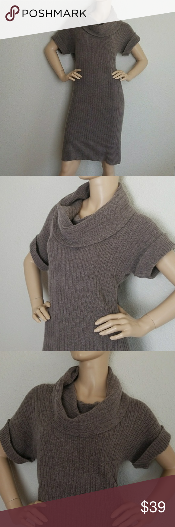 Banana Republic Cowl Neck Sweater Dress | Cowl neck sweater dress ...