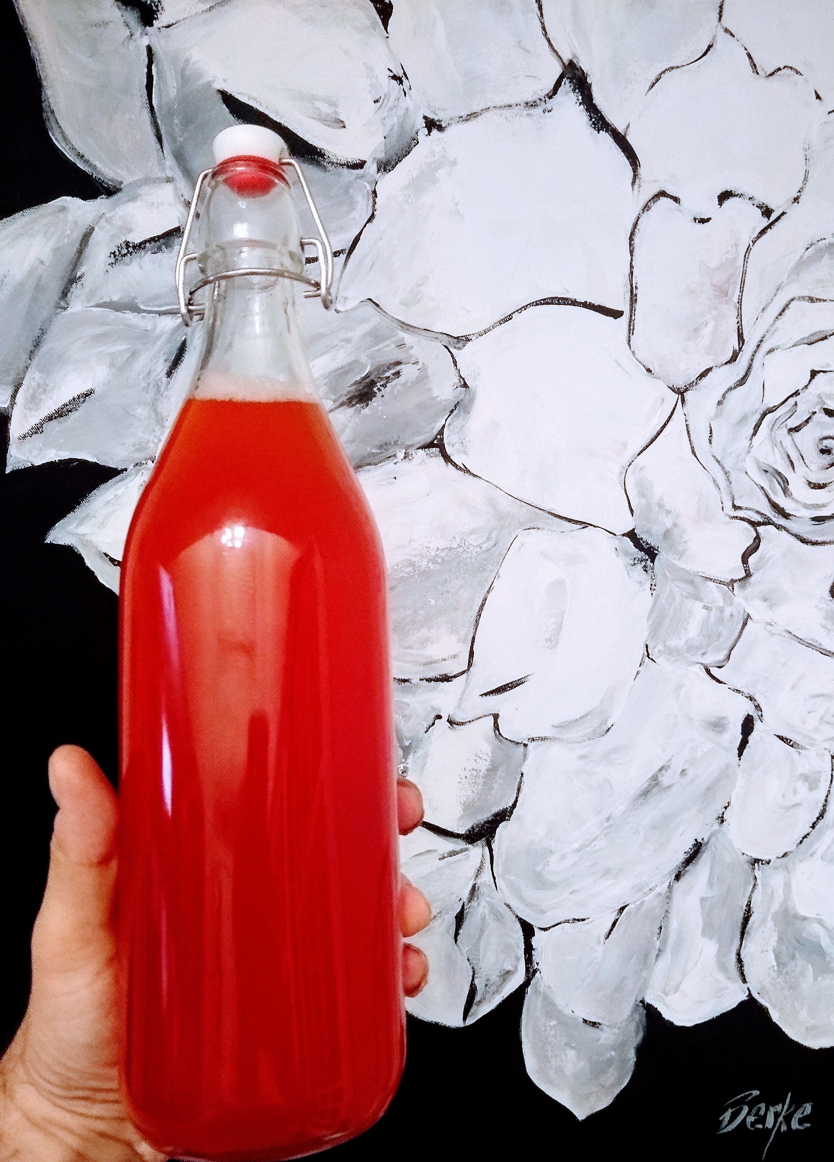 Sparkling Strawberry Lemonade - Insane in the Brine