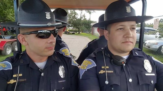 Last Day At The Fair Lip Sync State Trooper Police Humor