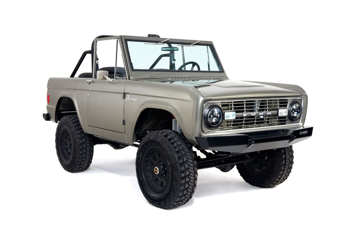 Early Bronco Restoration Ford Bronco Classic Ford Broncos