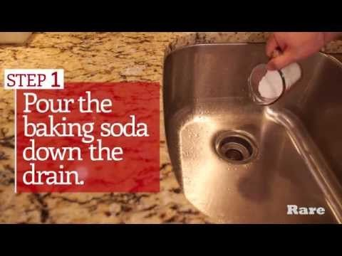 Unclog Your Sink Without Harmful Chemicals - YouTube