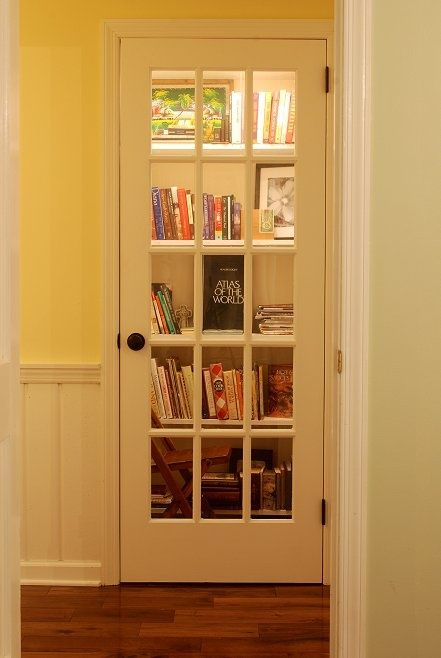 Create A Mini In Home Library By Converting An Unused Closet And