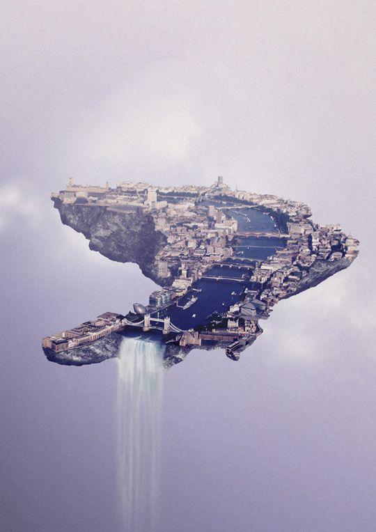 London as a floating island