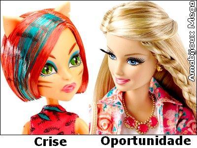 Crise e Oportunidade: Amigas Inseparáveis http://amabijouxmega.blogspot.com.br/2015/06/crise-e-oportunidade-amigas-inseparaveis.html De tempos em tempos, observamos o retorno da famosa crise, entretanto o brasileiro, acostumado com episódios anteriores, enfrenta esta temível fase, usando a criatividade e a astúcia para criar a oportunidade necessária e sobreviver, pois a crise e a oportunidade são amigas inseparáveis!